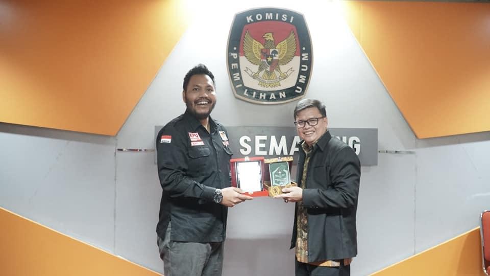 KPU Kota Semarang Terima Kunjungan KPU Kota Bandar Lampung