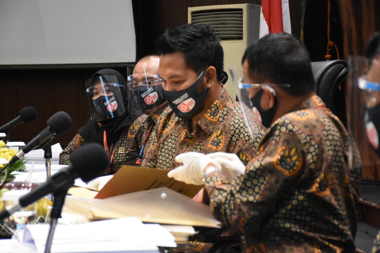 Foto Pendaftaran Bapaslon Pilwakot 2020