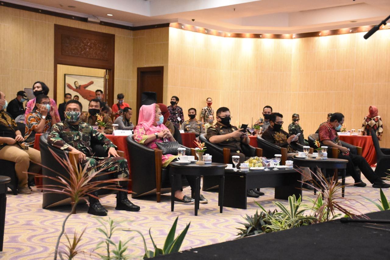 Caracter Building KPU dan Badan Ad Hoc Pilwakot Semarang 2020